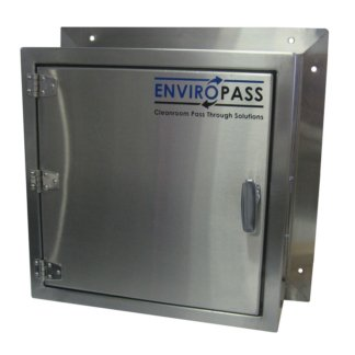 EnviroPass® pass-through stainless steel solid-door standard view