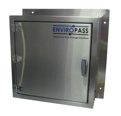 EnviroPass® pass-through stainless steel solid-door standard view