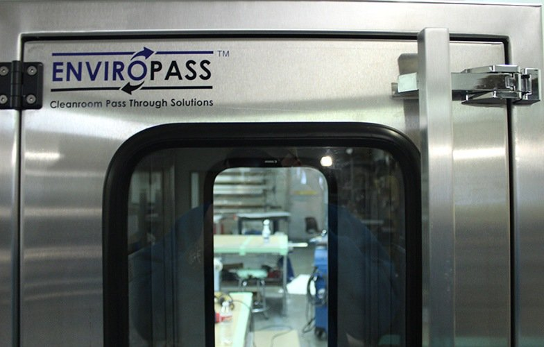 EnviroPass® Custom Pass-through wall-height with see through windowsfront detail