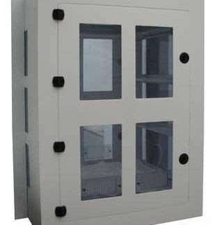 EnviroPass® chemical resistant polypropylene pass-through chamber medium version exterior view