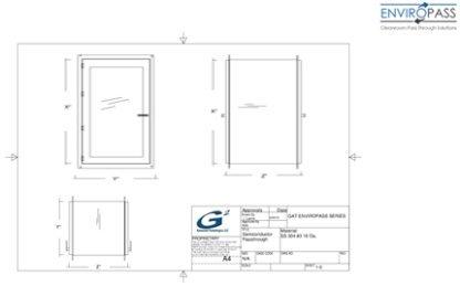 EnviroPass® PVC Pass-Through Drawing