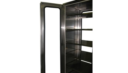 EnviroPass® stainless steel laboratory pass through showing door interior detail