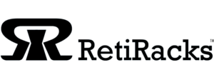RetiRacks™ by G2 reticle racks and wafer handling site logo for link to retiracks.com