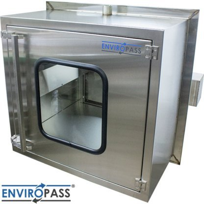 EnviroPass® Ventilated Pass-Through with HEPA filter right side view
