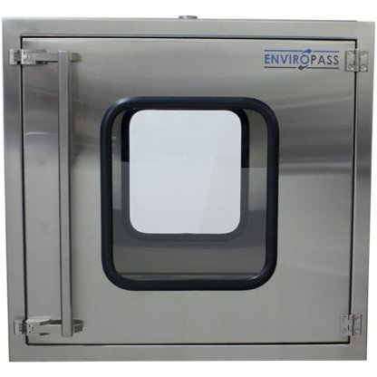 EnviroPass® Stainless Steel Ventilated Pass-Through with HEPA filter Front Door